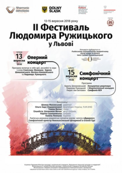 II Фестиваль Людомира Ружицького.